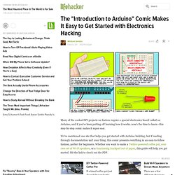 "The ""Introduction to Arduino"" Comic Makes It Easy to Get Started with Electronics Hacking"
