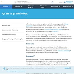 Introduction - Etwinning.fr