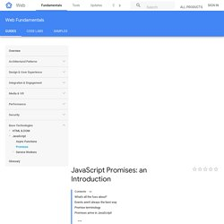 JavaScript Promises: an Introduction