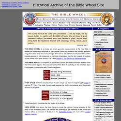 Introduction to the Bible Wheel - The Geometric Structure of the Bible