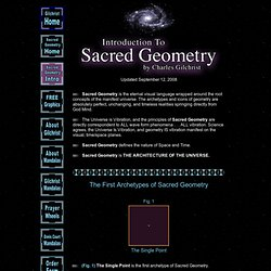 CG: Introduction to Sacred Geometry: Text, Mandalas and Vidio plus free graphics