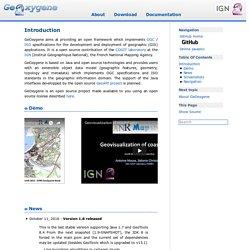 Introduction — GeOxygene