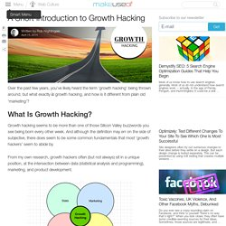 A Short Introduction to Growth Hacking