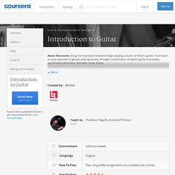 Introduction to Guitar - Berklee