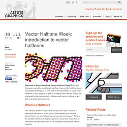 Astute Graphics Blog : Vector Halftone Week: introduction to vector halftones