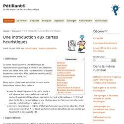 Pétillant® : Une introduction aux cartes heuristiques