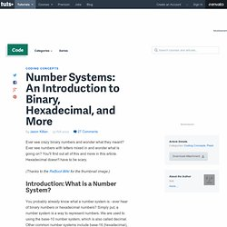 Number Systems: An Introduction to Binary, Hexadecimal, and More