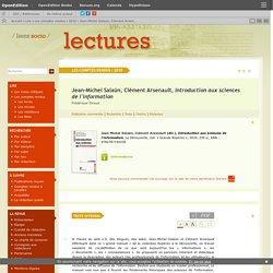 Jean-Michel Salaün, Clément Arsenault, Introduction aux sciences de l'information