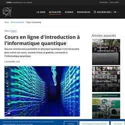 Cours en ligne d'introduction à l'informatique quantique