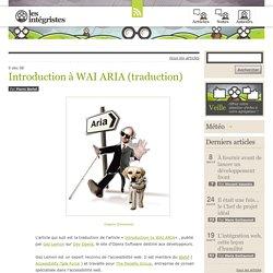 Introduction à WAI ARIA (traduction)