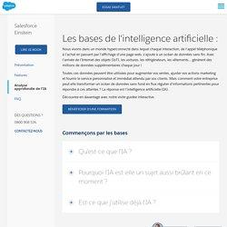 Qu'est-ce que l'IA? Introduction à l'intelligence artificielle par Salesforce - Salesforce France