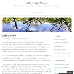 L'intervenante Asperger