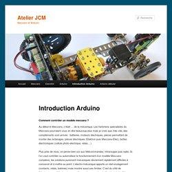 Introduction Arduino - Atelier JCMAtelier JCM