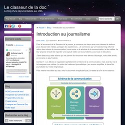 Introduction au journalisme