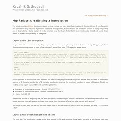 Map Reduce - A really simple introduction « Kaushik Sathupadi