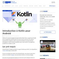 Introduction à Kotlin pour Android