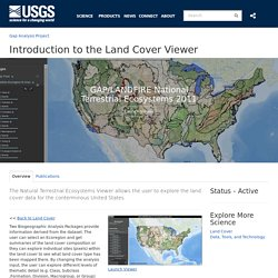 Introduction to the Land Cover Viewer