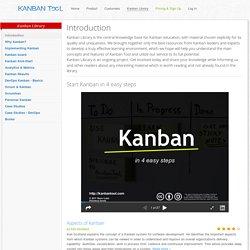 Lean & Kanban Resources