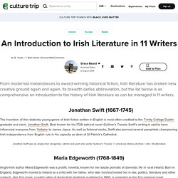 An Introduction to Irish Literature in 11 Writers