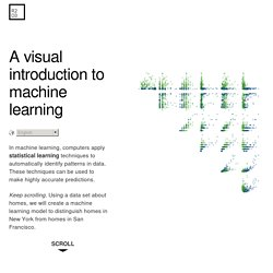 A Visual Intro to Machine Learning