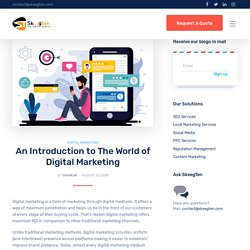 An Introduction to The World of Digital Marketing