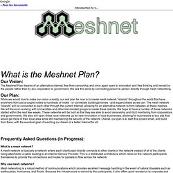 Introduction to the Meshnet Plan