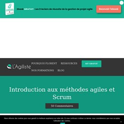 Introduction aux méthodes agiles et Scrum