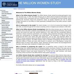 THE MILLION WOMEN STUDY