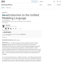 UML basics: An introduction to the Unified Modeling Language