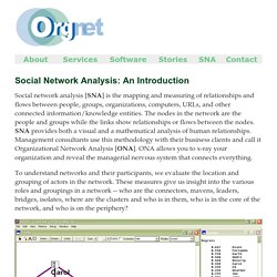 How to do Social Network Analysis