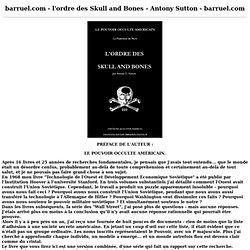Introduction à l'Ordre des Skull and Bones.