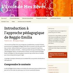 Introduction à l'approche pédagogique de Reggio Emilia