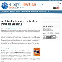 An Introduction into the World of Personal Branding | Personal B