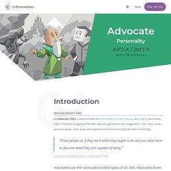 Advocate (INFJ) Personality