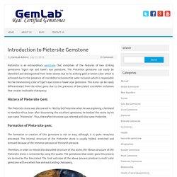 Introduction to Pietersite Gemstone