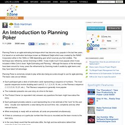 An Introduction to Planning Poker