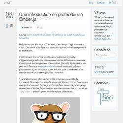 Une introduction en profondeur à Ember.js · VF svp
