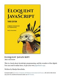 Eloquent JavaScript -- interactive tutorial