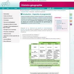 Introduction : Capacités et progressivité
