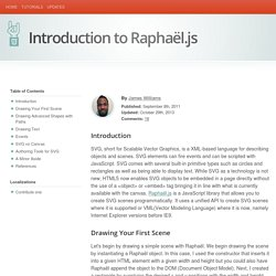 Introduction to Raphaël.js