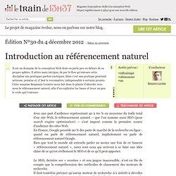 Introduction au référencement naturel