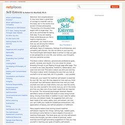 Introduction to Self-Esteem