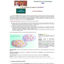 Introduction à la sémiotique : Le Système