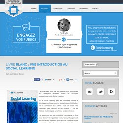 Livre Blanc : Une Introduction au Social Learning