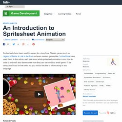 An Introduction to Spritesheet Animation