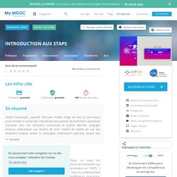 Introduction aux STAPS