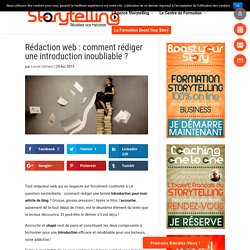 Rédaction web : comment rédiger une introduction inoubliable ?