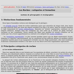 Introduction à la pétrographie et à la stratigraphie