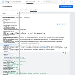 Promote Your Content with Structured Data Markup - Structured Data