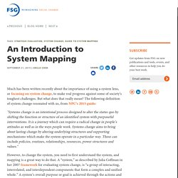 An Introduction to System Mapping